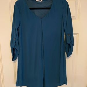 Women's Lush 3/4 Sleeve Shift Dress